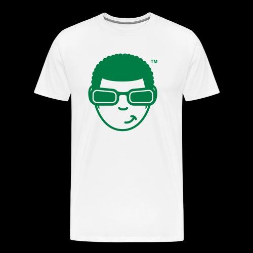 WearFizzle Mascot Green - Men's Premium T-Shirt