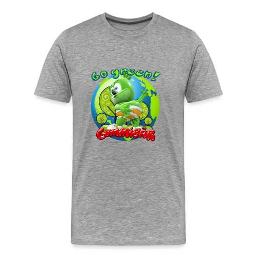 Gummibär Go Green Earth Day Earth - Men's Premium T-Shirt