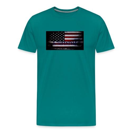 AMERICAN FLAG - Men's Premium T-Shirt