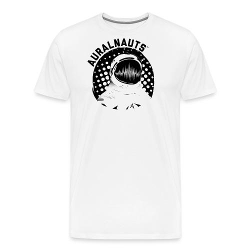 Auralnauts Blk Text - Men's Premium T-Shirt