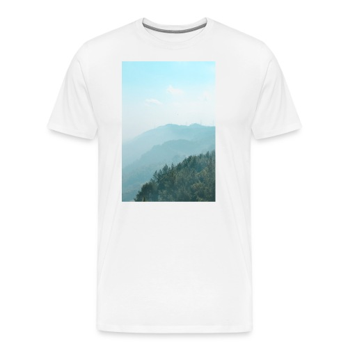 Hilly Stack - Men's Premium T-Shirt