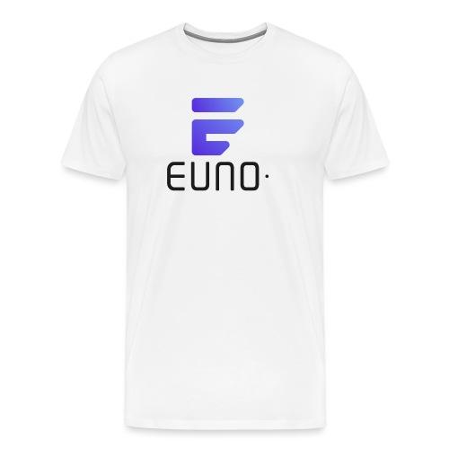 EUNO LOGO POTRAIT BLACK FONT - Men's Premium T-Shirt