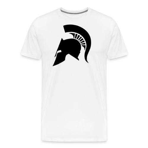 Spartan helmet - Men's Premium T-Shirt