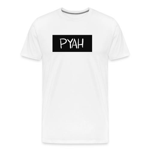PYAH Box Logo - Men's Premium T-Shirt