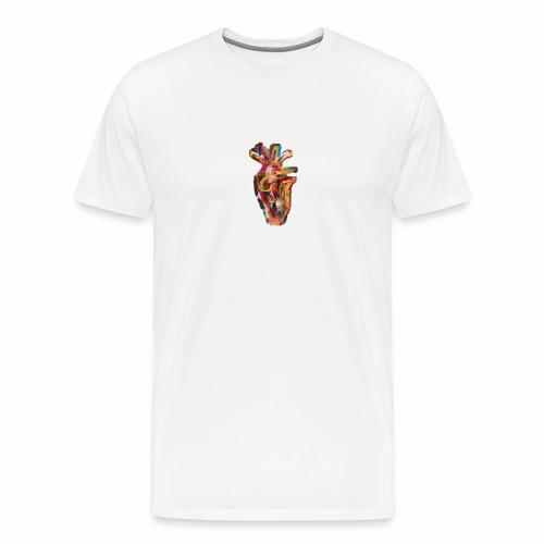 Heart On Your Shirt - Men's Premium T-Shirt