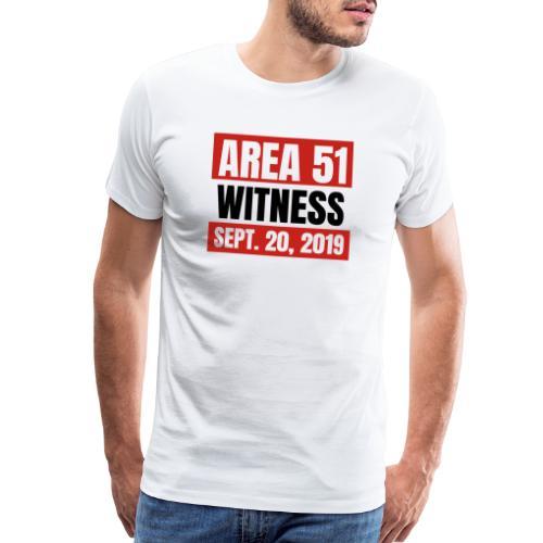Area 51 Witness - Men's Premium T-Shirt
