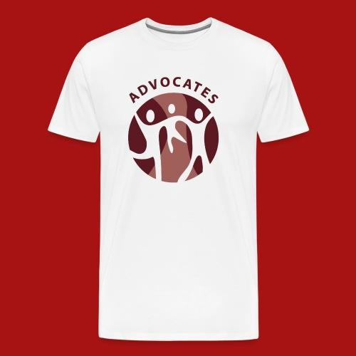 Advocates Logo Transparent - Men's Premium T-Shirt