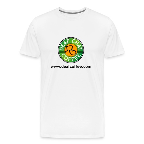 deafcoffee mug - Men's Premium T-Shirt