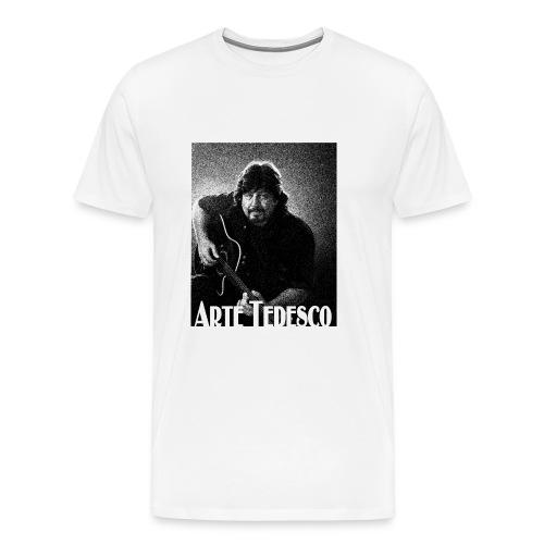 Arte BW Rd jpg - Men's Premium T-Shirt