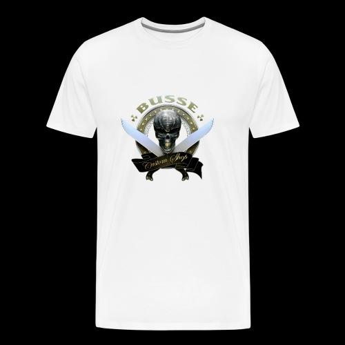 Custom Shop Skull - Men's Premium T-Shirt