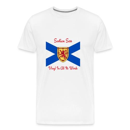 Scotian Sass Transparent - Men's Premium T-Shirt