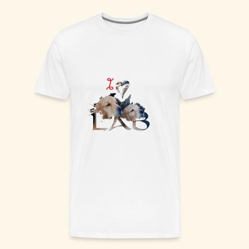 I love Lab - Men's Premium T-Shirt