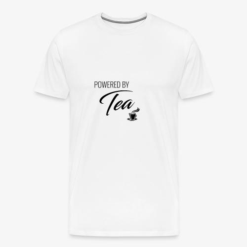 Powered by Tea - Men's Premium T-Shirt