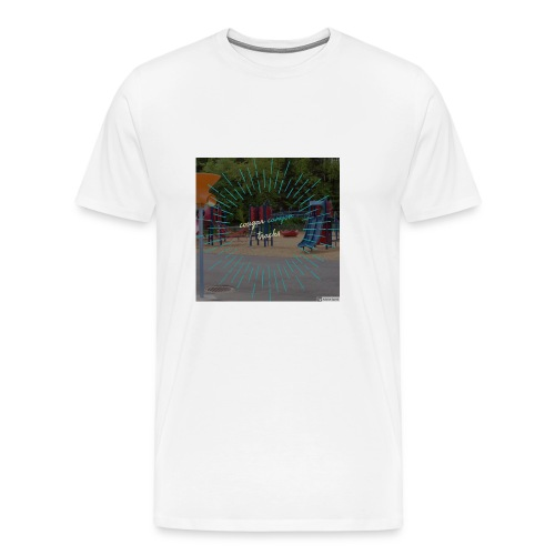 t-shirt cougar canyon tracks - Men's Premium T-Shirt