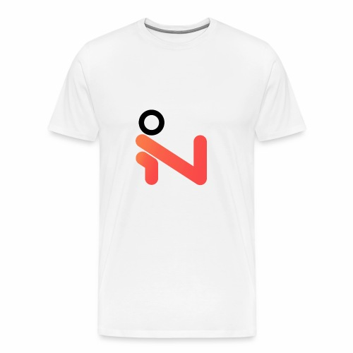 iLogo Black - Men's Premium T-Shirt