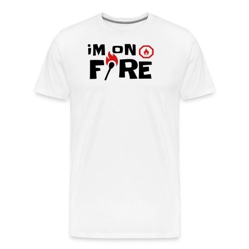 im on fire - Men's Premium T-Shirt