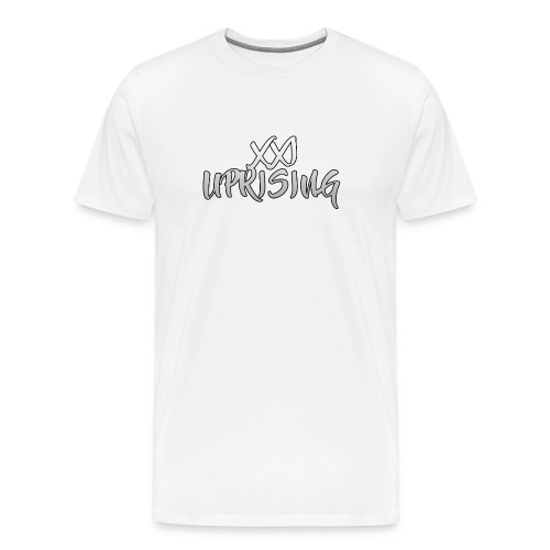 XXI Uprising Brush Text - Men's Premium T-Shirt