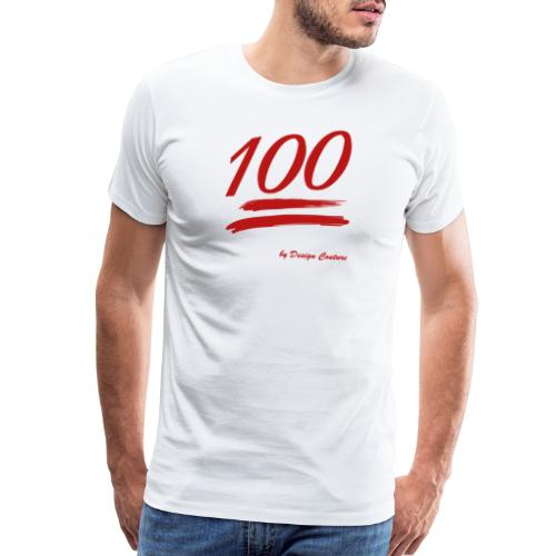 100 RED - Men's Premium T-Shirt