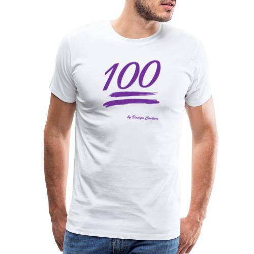 100 PURPLE - Men's Premium T-Shirt