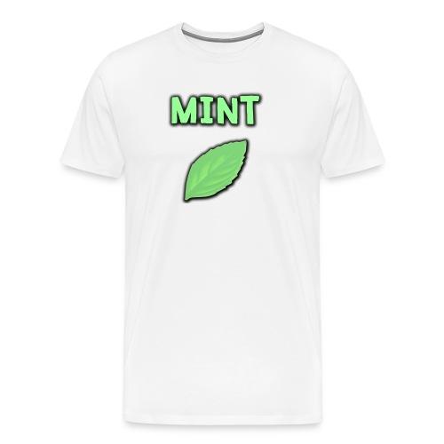 mint png - Men's Premium T-Shirt