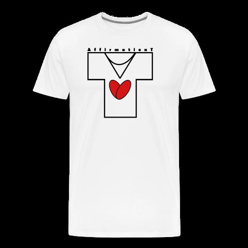 AffirmationT logo - Men's Premium T-Shirt