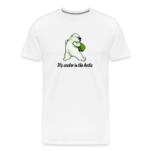 Cooler In The Arctic - Men's Premium T-Shirt