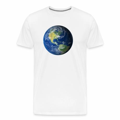 Get On Our Planet Gym Apparel - Men's Premium T-Shirt