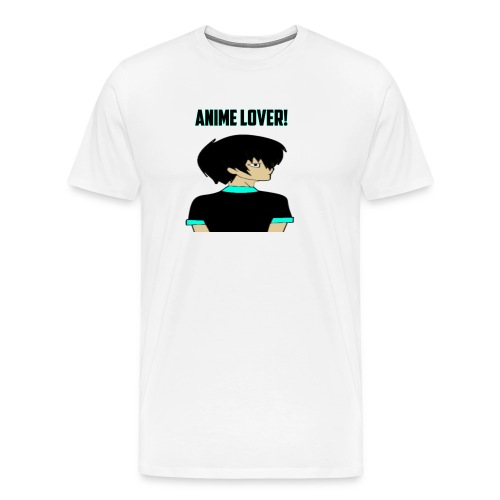 anime lover - Men's Premium T-Shirt