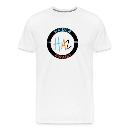 HAIDER Awais Logo - Men's Premium T-Shirt