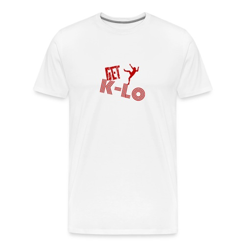 Red k lo - Men's Premium T-Shirt