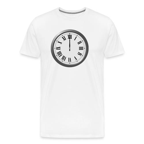 Time Flies When You Watch Team Google Plex - Men's Premium T-Shirt