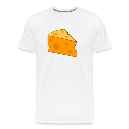 Cheese Design - Men's Premium T-Shirt