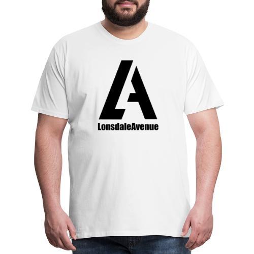 Lonsdale Avenue Logo Black Text - Men's Premium T-Shirt
