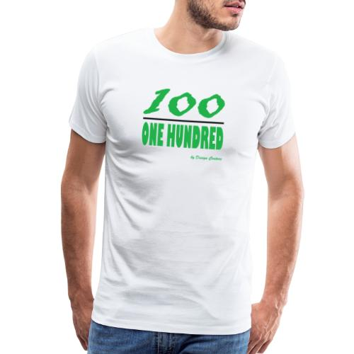 ONE HUNDRED GREEN - Men's Premium T-Shirt