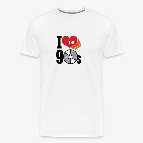 I love the 90s - Men's Premium T-Shirt