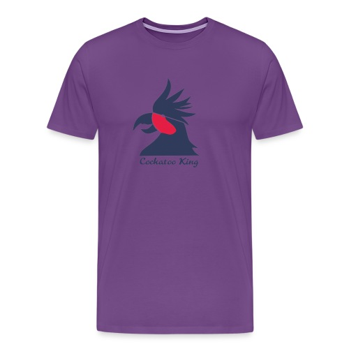 Cockatoo Logo - Men's Premium T-Shirt