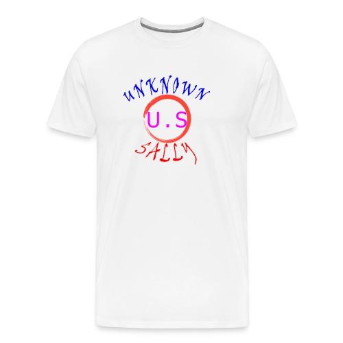 Initial Hoodie - Men's Premium T-Shirt
