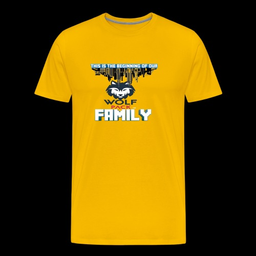 We Are Linked As One Big WolfPack Family - Men's Premium T-Shirt