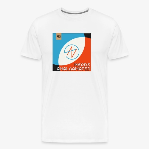 Top Shelf Nerds Cover - Men's Premium T-Shirt