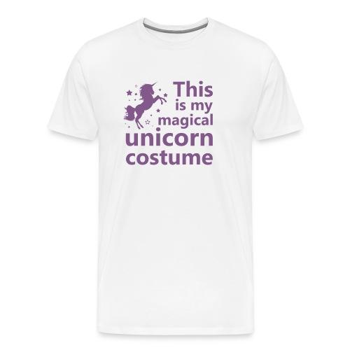 This is my magical unicorn costume - Men's Premium T-Shirt