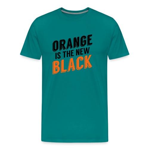 black2 - Men's Premium T-Shirt