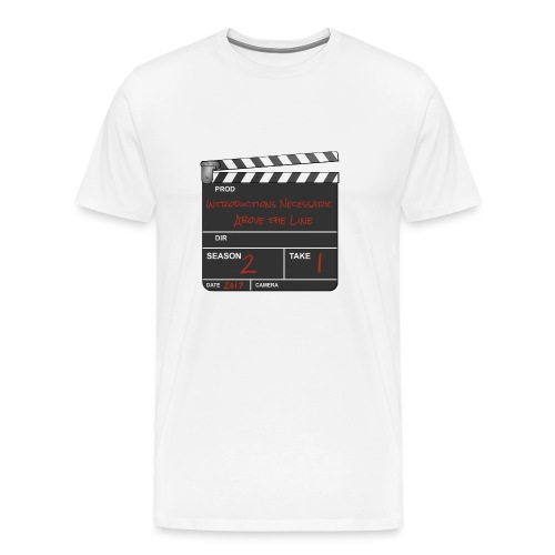 IN: Above The Line Logo - Men's Premium T-Shirt