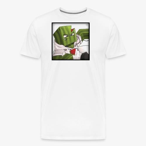 MrFlubby logo - Men's Premium T-Shirt