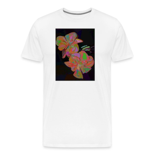 flowers 01 - Men's Premium T-Shirt
