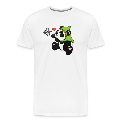 Destiny hunter panda - Men's Premium T-Shirt