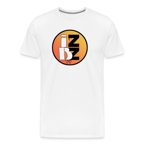 IZBZ Circle Logo - Men's Premium T-Shirt