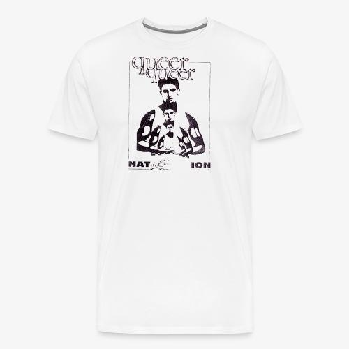 Queer Queer Nation - Men's Premium T-Shirt
