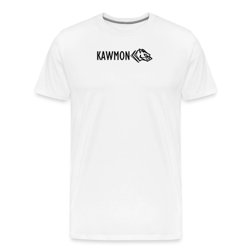 Kawmon Athleisure Gym Apparel Chest Logo - Men's Premium T-Shirt