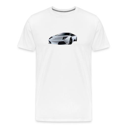 lamborghini, lambo, - Men's Premium T-Shirt