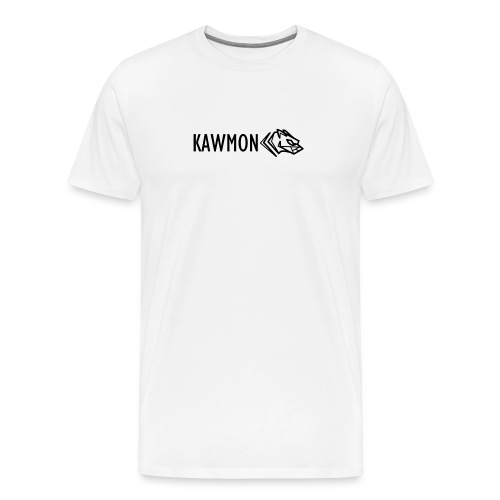 Kawmon Athleisure Gym Apparel Chest Logo - Men's Premium T-Shirt